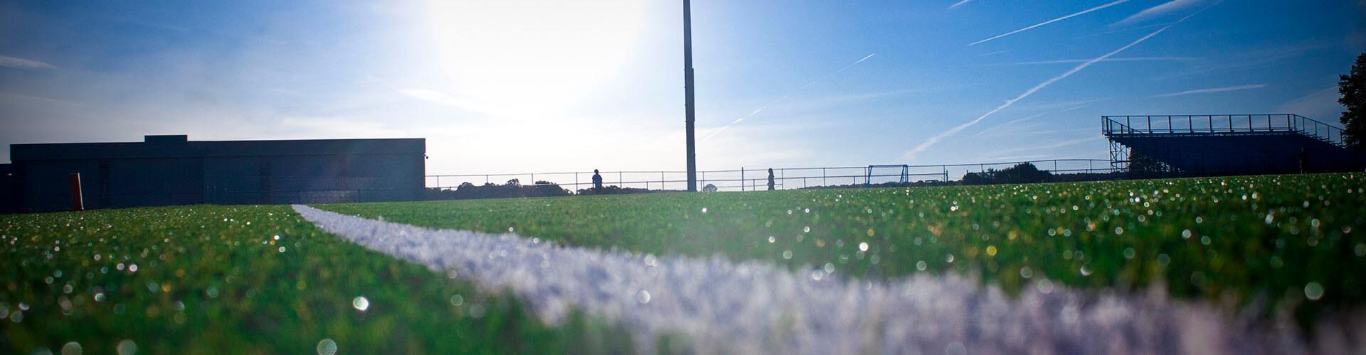 hortek profesionalno urejanje nogometnih igrišč svetovanje in vzdrževanje - slider stadion igrišče trava črte 1920x500